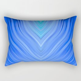 stripes wave pattern 3 c80 Rectangular Pillow