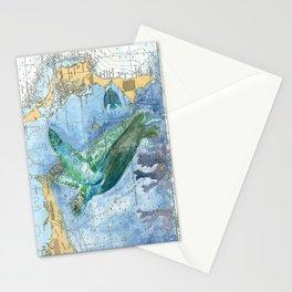Turtle 4A (Bahamas) Stationery Cards