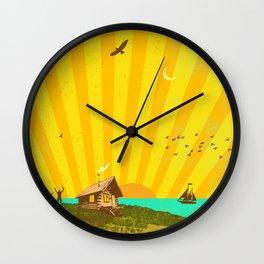 BETTER LAND Pt. 3 Wall Clock
