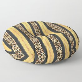 Viking gold Floor Pillow