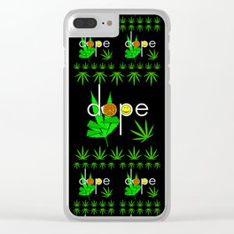 Dope Clear iPhone Case