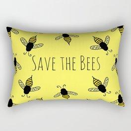 Buzzin' Rectangular Pillow