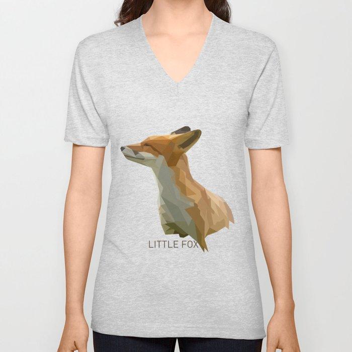 Little fox Unisex V-Neck