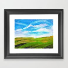 Palouse Framed Art Print