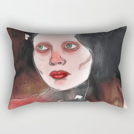 A Touch of Red (study) Rectangular Pillow