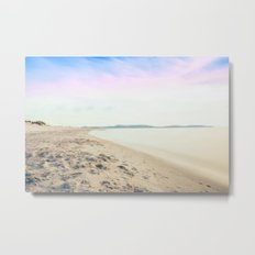 Sand, Sea and Sky - Relaxing Summertime Metal Print