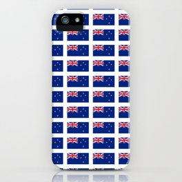 Flag of new zealand -zealand,New Zealander,Kiwi,wellington,Auckland. iPhone Case