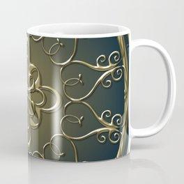Golden Nemo Pattern Coffee Mug