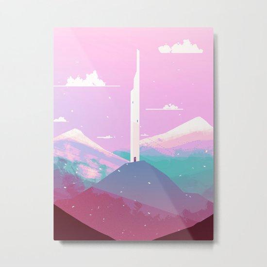 tower of wind Metal Print