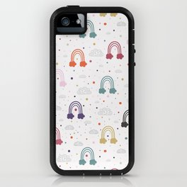Count Your Rainbows iPhone Case