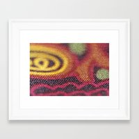 stained glass Framed Art Prints featuring Stained Glass by Stephen Linhart