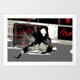 Hockey Goalie Art Prints Society6
