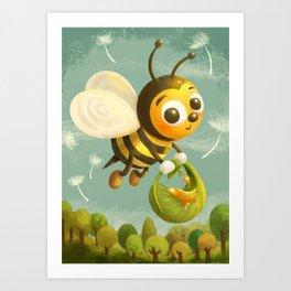 Beezy Bee Art Print