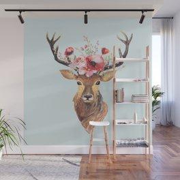Bohemian Deer 2 Wall Mural