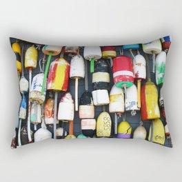 """Captured Photography Salt Series """"Buoys"""" Rectangular Pillow"""