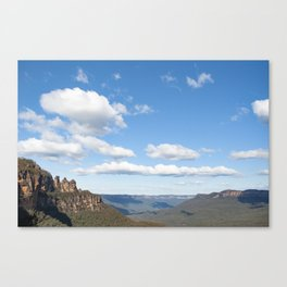 Siblings On The Horizons Canvas Print