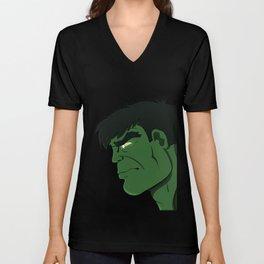 Hulk Stare Down Unisex V-Neck