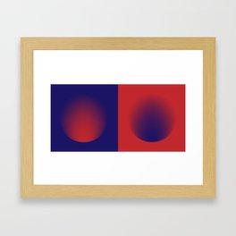 SPACE Album Art Diptych Framed Art Print