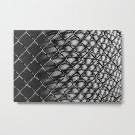 FENCE NO.7 Metal Print