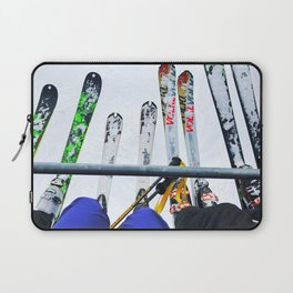 Ski All Day Laptop Sleeve