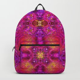 PEONY IN JUNE ABSTRACT Backpack