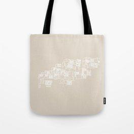 Montréal - Habitat67 - White Tote Bag