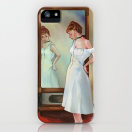 The Psyche mirror iPhone Case