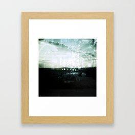 COLLIDING REALITIES II Framed Art Print