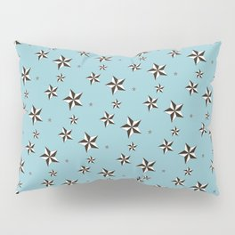 """Nifty 50's - """"Stars in your brains"""" Pillow Sham"""