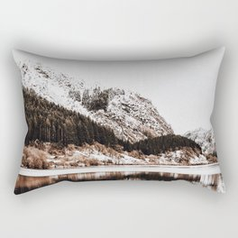 LAKE - OCEAN - BAY - SNOW - MOUNTAINS - HILLS - PHOTOGRAPHY Rectangular Pillow