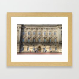 Buckingham Palace Guardsman Framed Art Print
