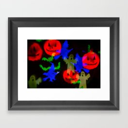 Ghosts And Ghouls Framed Art Print