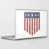 flag Laptop & iPad Skins featuring Flag by Emma Harckham