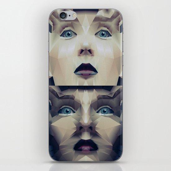 Facet_CD2 iPhone & iPod Skin