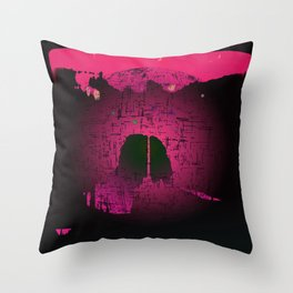 Planetary Mood 6 / Two Inside Doors Throw Pillow