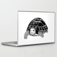 tortoise Laptop & iPad Skins featuring Tortoise by Emma Barker