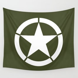 US Army Star Wall Tapestry
