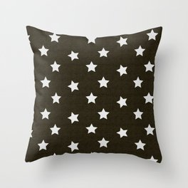 Christmas Stars #xmas #pattern #star #festive #home #decor #kirovair #christmas Throw Pillow