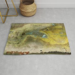Ibera fly fishing district Rug