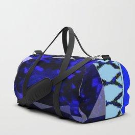BLUE  SAPPHIRE DECEMBER GEM BIRTHSTONE MODERN ART Duffle Bag