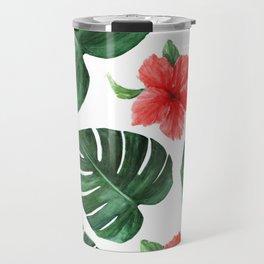 Tropical print Travel Mug