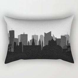 City Skylines: Brussels Rectangular Pillow
