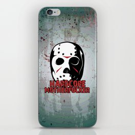 Hardcore Motherf*cker Rave Quote iPhone Skin