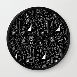 Dark Magic Wall Clock