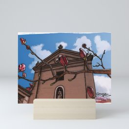 Magnolia (color) Mini Art Print