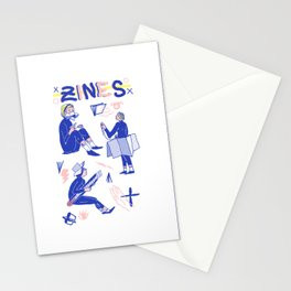 Zine Gurls Stationery Cards