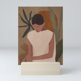 Tropical Girl 7 Mini Art Print