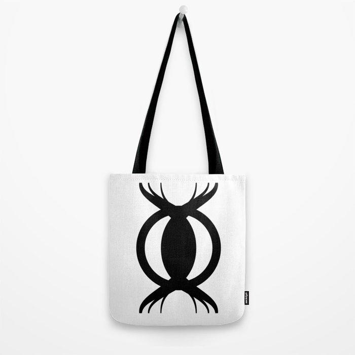 Goetic Symbol-Black Tote Bag