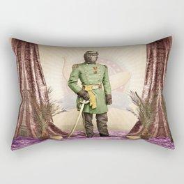 General Simian of the Glorious Banana Republic Rectangular Pillow