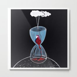 Temporary love Metal Print